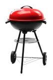 De barbecuegrill van de ketel met dekking Stock Foto