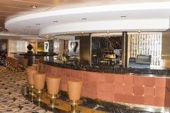 De barbinnenland van het cruiseschip Royalty-vrije Stock Foto