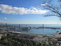 De Barcelona al mundo Fotografía de archivo