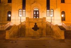 De barokke bouw - Faculteit van wet stock foto's