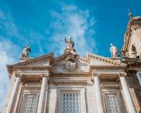 De barokke stad Porto Portugal van de architectuurkerk stock afbeeldingen