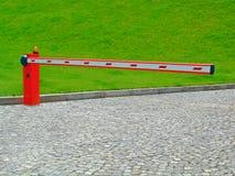 De barrière van de ingang Stock Foto's