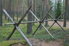 De barrière van het prikkeldraad stock afbeeldingen