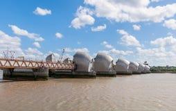De Barrière van Theems in Londen Stock Foto