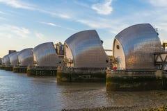 De Barrière van Theems, Londen, het UK Stock Fotografie