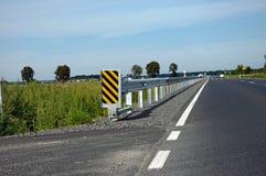 De barrière van de weg Stock Foto's