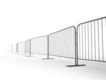 De barrières van de veiligheid Stock Afbeeldingen