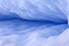 De barst van de gletsjer royalty-vrije stock afbeelding