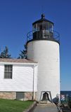 De bas HoofdVuurtoren van de Haven stock fotografie