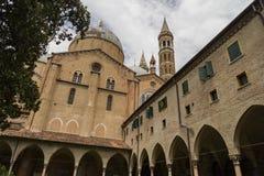 De Basiliek Di Sant ` Antonio in Padua, Italië, Stock Foto's