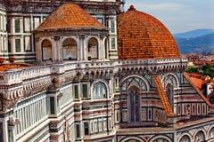 De Basiliek Florence Italië van de Kathedraal van Duomo royalty-vrije stock afbeeldingen