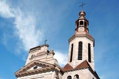 De basiliek-Kathedraal van Notre-Dame DE Quebec Royalty-vrije Stock Foto's