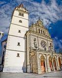 De basiliek in Mary van Bistrica Royalty-vrije Stock Afbeeldingen