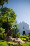De Basiliek San Diego DE Alcala van de opdracht Royalty-vrije Stock Foto's