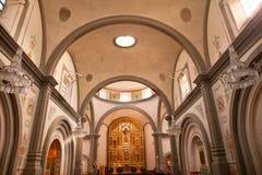 De Basiliek San Juan Capistrano van de opdracht Royalty-vrije Stock Afbeeldingen