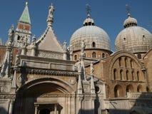 De basiliek San Marco in Venetië Royalty-vrije Stock Fotografie