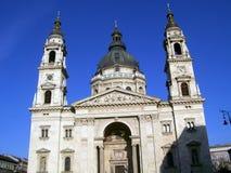 De basiliek van Boedapest stock foto's