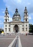 De Basiliek van Boedapest stock foto