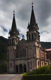De basiliek van Covadonga royalty-vrije stock afbeelding