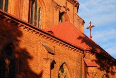 De Basiliek van de kathedraal Royalty-vrije Stock Afbeeldingen