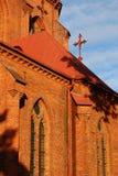 De Basiliek van de kathedraal Stock Fotografie