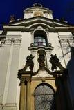 De Basiliek van de Veronderstelling van Onze Dame is een kerk in het Strahov-Klooster, Praag Royalty-vrije Stock Afbeelding