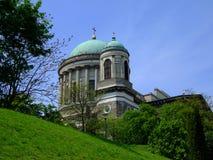 De basiliek van Esztergom royalty-vrije stock afbeelding