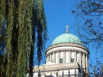 De Basiliek van Esztergom, Hongarije Stock Foto's