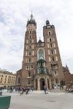 De Basiliek van heilige Mary ` s Stock Afbeeldingen