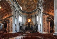 De basiliek van heilige peter s Stock Afbeelding