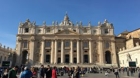 De Basiliek van heilige Peters Stock Fotografie