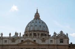 De Basiliek van heilige Peters Royalty-vrije Stock Foto's