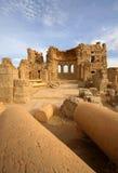 De Basiliek van heilige Sergius in Rasafa Stock Foto