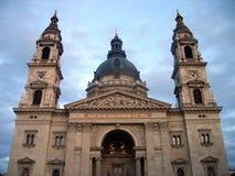 De Basiliek van heilige Stephen - Boedapest stock foto's