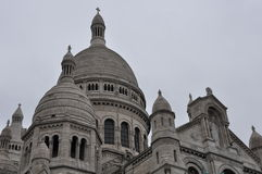 De basiliek van het Heilige Hart van Parijs Royalty-vrije Stock Foto