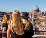 De basiliek van Italië, Rome, st. peter Stock Afbeeldingen