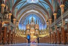 De Basiliek van Notre Dame royalty-vrije stock foto's