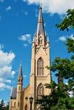 De Basiliek van Notre Dame Stock Fotografie