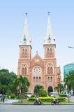 De Basiliek van Notre Dame van Saigon Stock Foto