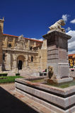 De basiliek van San Isidro. Leon Spanje Stock Foto's