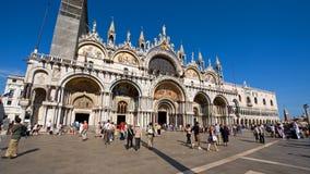De Basiliek van San Marco in Venetië Royalty-vrije Stock Afbeelding