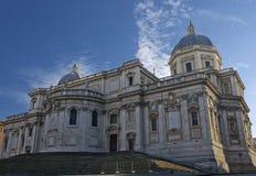 De Basiliek van Santa Maria Maggiore Royalty-vrije Stock Foto's