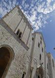 De Basiliek van Sinterklaas in Bari Stock Foto's