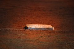 De basis van het honkbal Stock Foto's