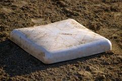 De Basis van het honkbal Stock Foto