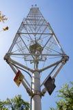De basis van de maanlichttoren tegen de hemel royalty-vrije stock foto