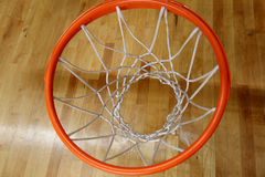 De basketbalring Royalty-vrije Stock Foto's