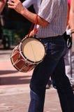 De Baskische musicus van het Land royalty-vrije stock fotografie