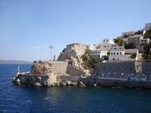 De bastionen van Hydra met kanonnen Royalty-vrije Stock Afbeeldingen