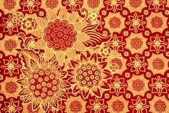 De batik Stock Afbeelding